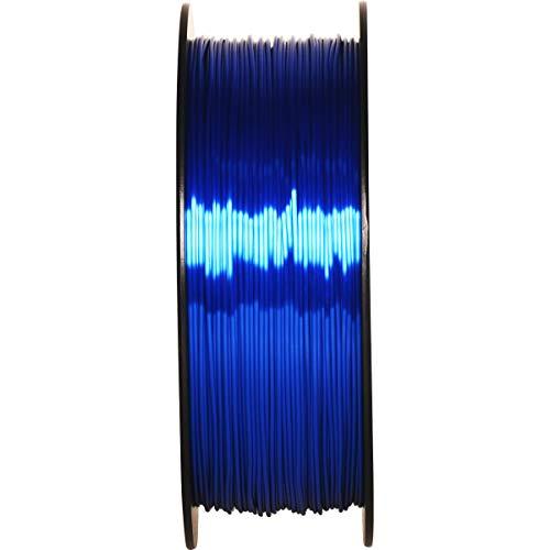 GIANTARM Filamento PLA 1.75mm Silk Blu Royal, Stampante 3D PLA Filamento 1kg Spool