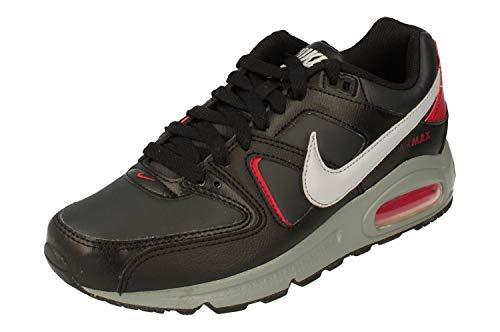 Nike Herren Air Max Command Walking-Schuh, Negro Gris Lobo Antracita Noble Red, 39 EU