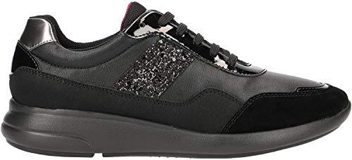 Geox Damen Laufschuhe, Farbe Schwarz, Marke, Modell Damen Laufschuhe D Ophira C Schwarz