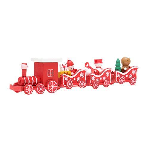 TOYANDONA - Züge & Straßenbahnen in Rot, Größe 21 * 5 cm