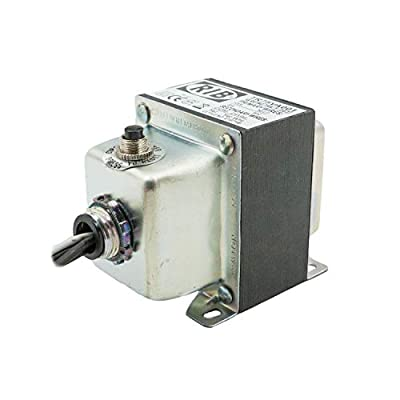 Functional Devices TR75VA001 Transformer, 75 VA, 120 to 24 Vac, Circuit Breaker, Foot and Single Threaded Hub Mount