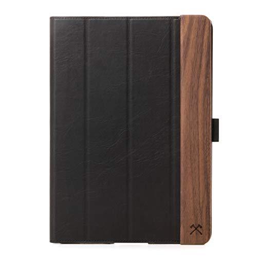 "Woodcessories - Hülle kompatibel mit iPad Pro 11"" (2018) aus Holz - EcoFlip iPad Case (Walnuss)"