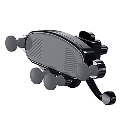 LILICEN Titular del teléfono del coche, teléfono celular del montaje del coche Soporte Auto-retráctil del teléfono del coche de navegación gravedad Corchete de sensor de teléfono celular titular for e