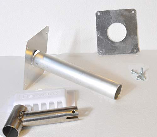 SMAD Gas-Schornsteinkit für Propan-Kühlschrank im Wohnwagen Wohnmobil