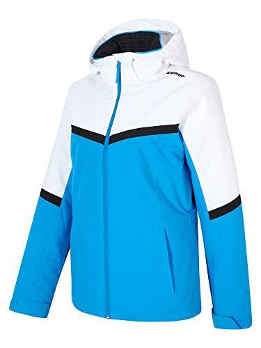 Ziener Damen Palin Ski Snowboard-Jacke, French Blue, 44 (L)