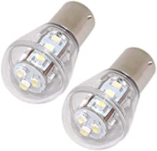 HQRP 2-Pack Headlight LED Bulb compatible with John Deere 5200 5300 5400 5500 D100 D105 D110 D120 D125 D130 D140 D150 D155 D160 D170 GT225 GT235 GX255 GX325 GX335 Tractor