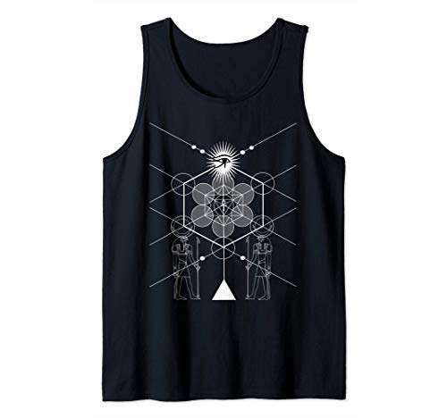 La ciencia de la geometría sagrada egipcia Camiseta sin Mangas