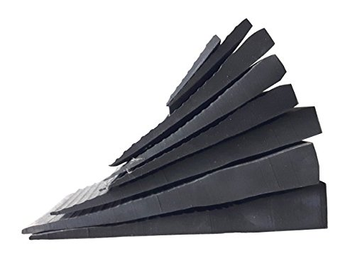 Faba Care Schwellenrampe Gummi, Rollstuhlrampe, Türschwellenrampe, schwarz, 20 mm x 150 mm x 1000 mm, Schwellenhöhe 2 cm