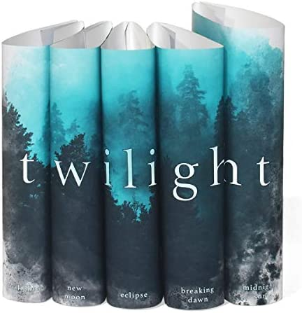 Juniper Books Twilight Saga Custom DUST Jackets ONLY Books Not Included for Your Five Volume product image