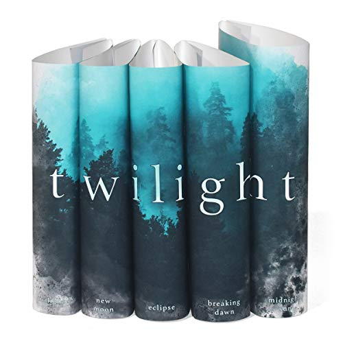 Juniper Books Twilight Saga Custom DUST Jackets ONLY (Books Not Included) | for Your Five-Volume Hardcover Book Set
