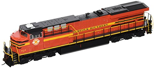 Bachmann GE ES44AC DCC Sound Value Equipped Diesel Locomotive - NORFOLK SOUTHERN RAILWAY #8114 (with operating ditch lights) - HO Scale