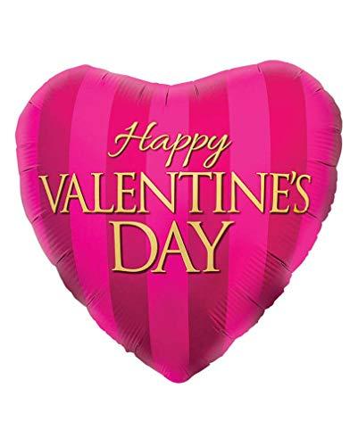 Horror-Shop Folienballon Happy Valentines Day Rose