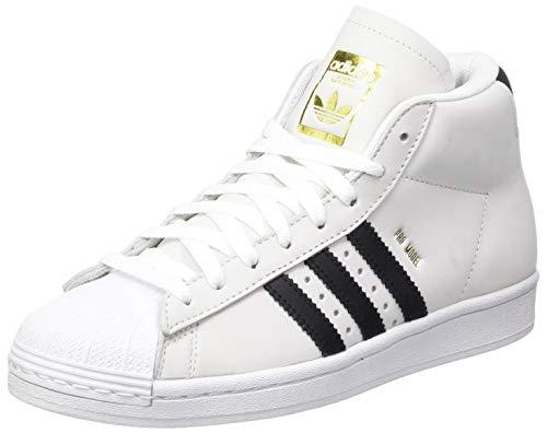 adidas Pro Model, Zapatillas de Gimnasio para Hombre, FTWR White Core Black Gold Met, 46 EU