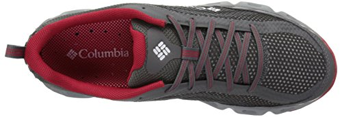 Product Image 5: Columbia Men's Drainmaker IV Water Shoe, City Grey, Mountain red, 10