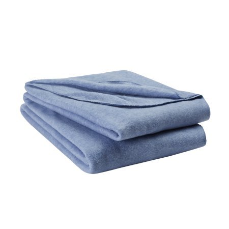 Mainstays New Value Blanket Soft and Comfortable Twin / Twin XL, Blue