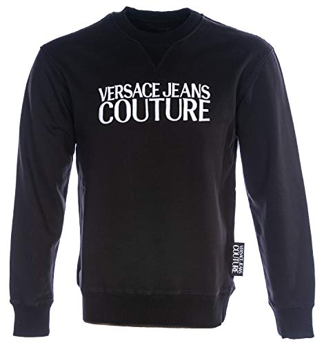 VERSACE JEANS COUTURE VJC Logo Sweat Top in Black