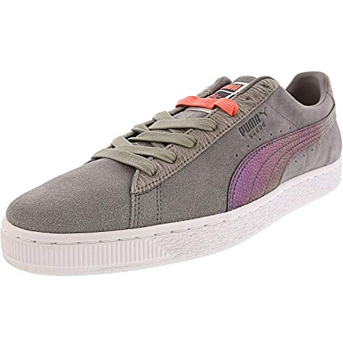 Puma Suede Classic X Staple Pigeon Mens Gray Suede Lace Up Sneakers Shoes
