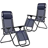 Best Beach Lounge Chairs - New Zero Gravity Chairs Case of 2 Lounge Review