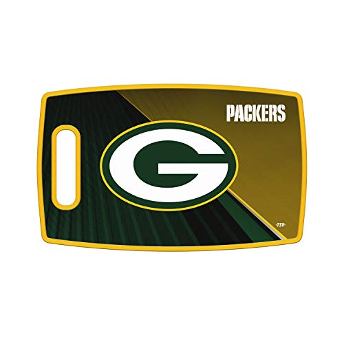 Sports Vault NFL Green Bay Packers Large Cutting Board, 14.5
