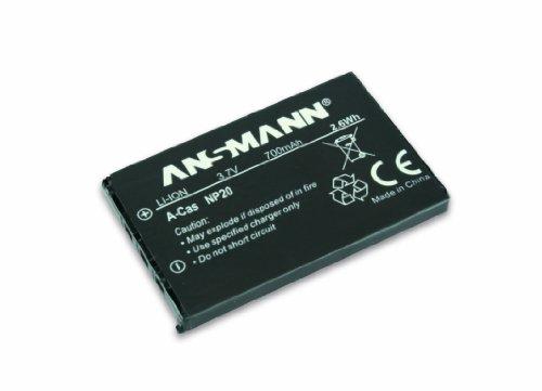 Ansmann 5022773 NP 20 - Batería de Ion de Litio para cámaras Digitales Minolta (3.7V, 700mAh)