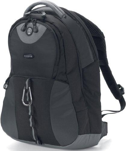 Dicota BacPac Mission XL Notebooktasche schwarz für Notebooks bis 43,9 cm (17,3 Zoll)