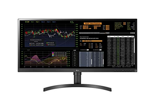 LG 34CN650W-AC UltraWide Thin Client All-in-One Monitor 86,36 cm (34 Zoll) (IPS-Panel, Dual Display, 4 GB RAM, 128 GB SSD), schwarz