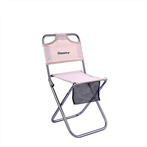 MoonyLI Tragbarer Klappstuhl Für Den Außenbereich,Klappstühle,Campinghocker mit Lehne,Deal für Camping, Angeln, Outdoor etc