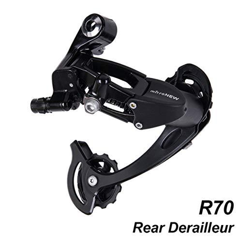 Anam Safdar Butt Bicicleta Bicicleta Accessproes MTB Speed Shifter de Cambio Trasero Compatible con Piezas m370 m430 m590 DEORE 27s 9s System