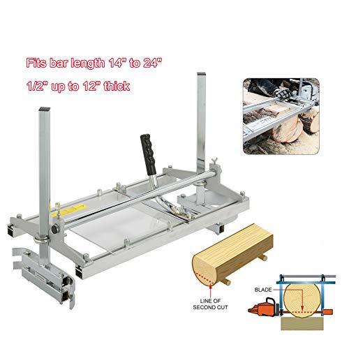 Valens Segheria a Catena Motoseghe Planking Fresatura MG Portatile per Motosega Tavolame Lame (14-24 Pollici)