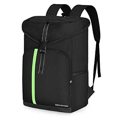 SEEHONOR Insulated Cooler Backpack Leakproof Soft Cooler Bag Lightweight Backpack