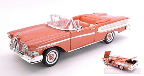 Ford Edsel citation convertible 1958 negro maqueta de coche 1:18 la Lucky Cast