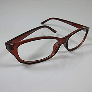 CEPEWA chique moderne leesbril bruin +3,0 voor dames en heren kant-en-klare bril