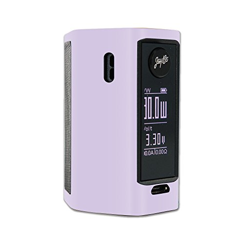 MightySkins Skin Compatible with Wismec Reuleaux RX Mini – Solid Lilac | Protective, Durable, and Unique Vinyl Decal wrap Cover | Easy to Apply, Remove, and Change Styles | Made in The USA