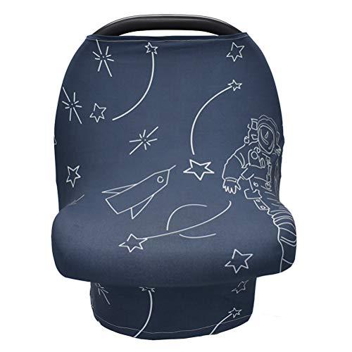 Kinnter Elastische stoelhoezen voor jongens en meisjes, multifunctionele stoelhoezen, winkelwagen/hoge stoel/kinderwagen hoezen
