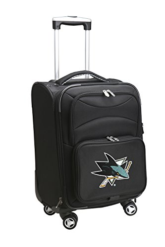 Denco NHL San Jose Sharks Carry-On Spinner