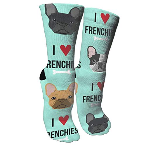 SDGSS High quality breathable Calcetines Frenchie Dog Fabric Compression Socks...
