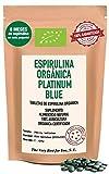 Espirulina Platinum Blue BIO Premium: Ultra Energía Boost con Esta Bomba Nutricional - Tamaño Económico de 2000 tabletas (+500 ofrecidas) Resultados WOW en 9 días o reembolsado + GRATIS: 2500…