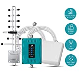 5 Band Cell Phone Signal Booster for Home and Office - Enhance Cellphone