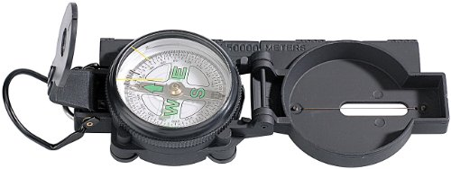 Semptec Urban Survival Technology Compass: Robuster Kompass mit Metallgehäuse (Taschenkompass)