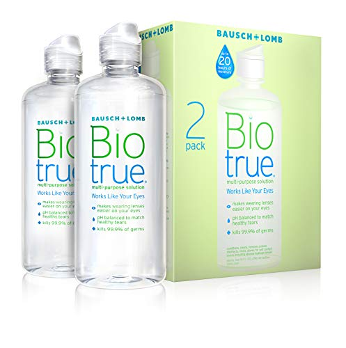 Biotrue Multi-Purpose Solution for Soft Contact Lenses (Pack of 2)