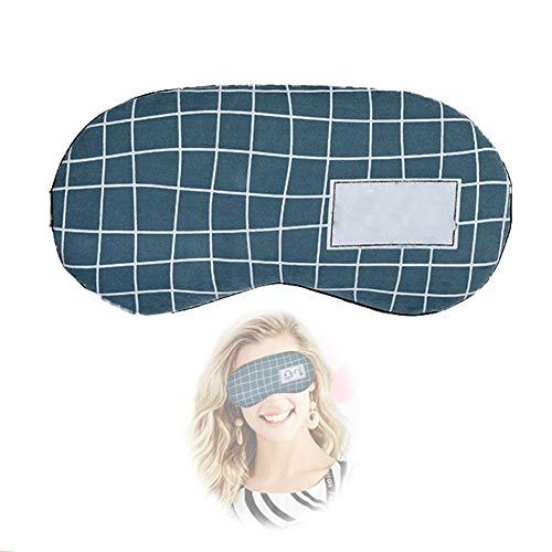 ZPYZA Slaapmasker, voor het verlichten van de ogen, met timerfunctie, voor oogtassen, oedemen- en vermoeide oogmaskers