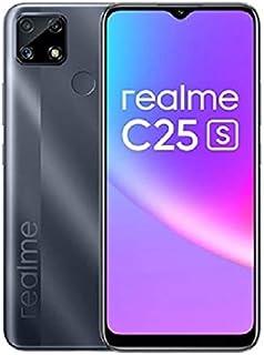 Realme C25s - 6.5-inch 64GB/4GB Dual SIM Mobile Phone -Water Grey
