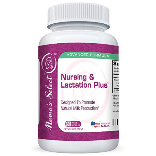Breastfeeding Supplement with Fenugreek Plus Blessed Thistle, Fennel Seed, & Marshmallow Root
