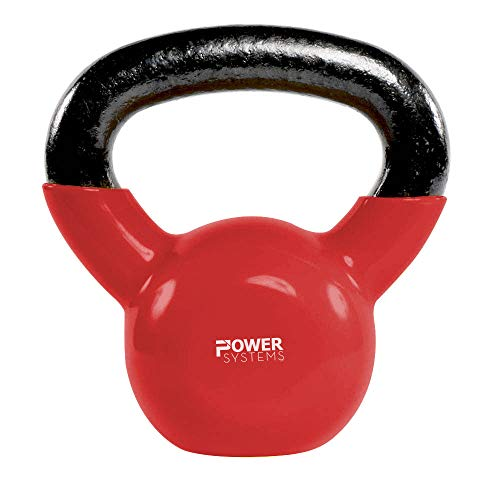 Power Systems Premium Kettlebell Prime, 10 Pounds, Red (22842)