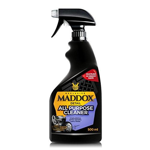 Maddox Detail - All Purpose Cleaner – Limpiador Multiusos. Limpia y desengrasa salpicaderos, tapicería, alfombras, Llantas, neumáticos y Pintura del Coche.
