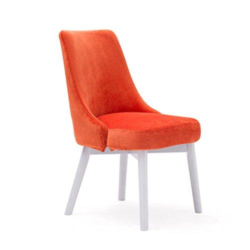 HHCS Chaise de salle à manger en bois massif chaise d'hôtel de mode chaise de café Chaise de loisirs simple chaise de salle à manger nordique chaise de négociation (46.5 * 49 * 83 cm) Chaises et tabou