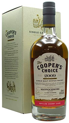 Photo of Mannochmore – Cooper's Choice – Refill Sherry Butt – 2009 12 year old Whisky