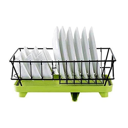 SHYPT Cocina escurridor, de Almacenamiento en Rack tazón, Fregadero de Drenaje Cesta Lavar los Platos Tendedero