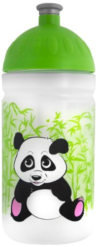 FreeWater Trinkflasche - 0,5 l - Panda - transparent