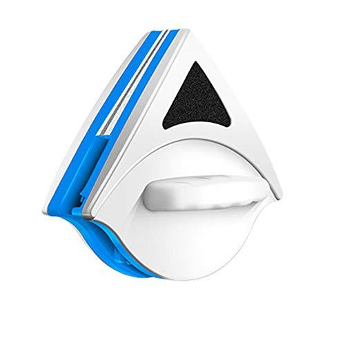 Cepillo De Limpieza De Vidrio De Ventana Magnético Limpiador De Ventana Magnético De Doble Cara con Cuerda Anticaída para Edificios De Gran Altura con Acristalamiento Simple Y Doble,3~8mm
